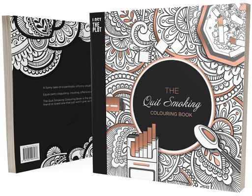 book-The Quit Smoking Colouring Book