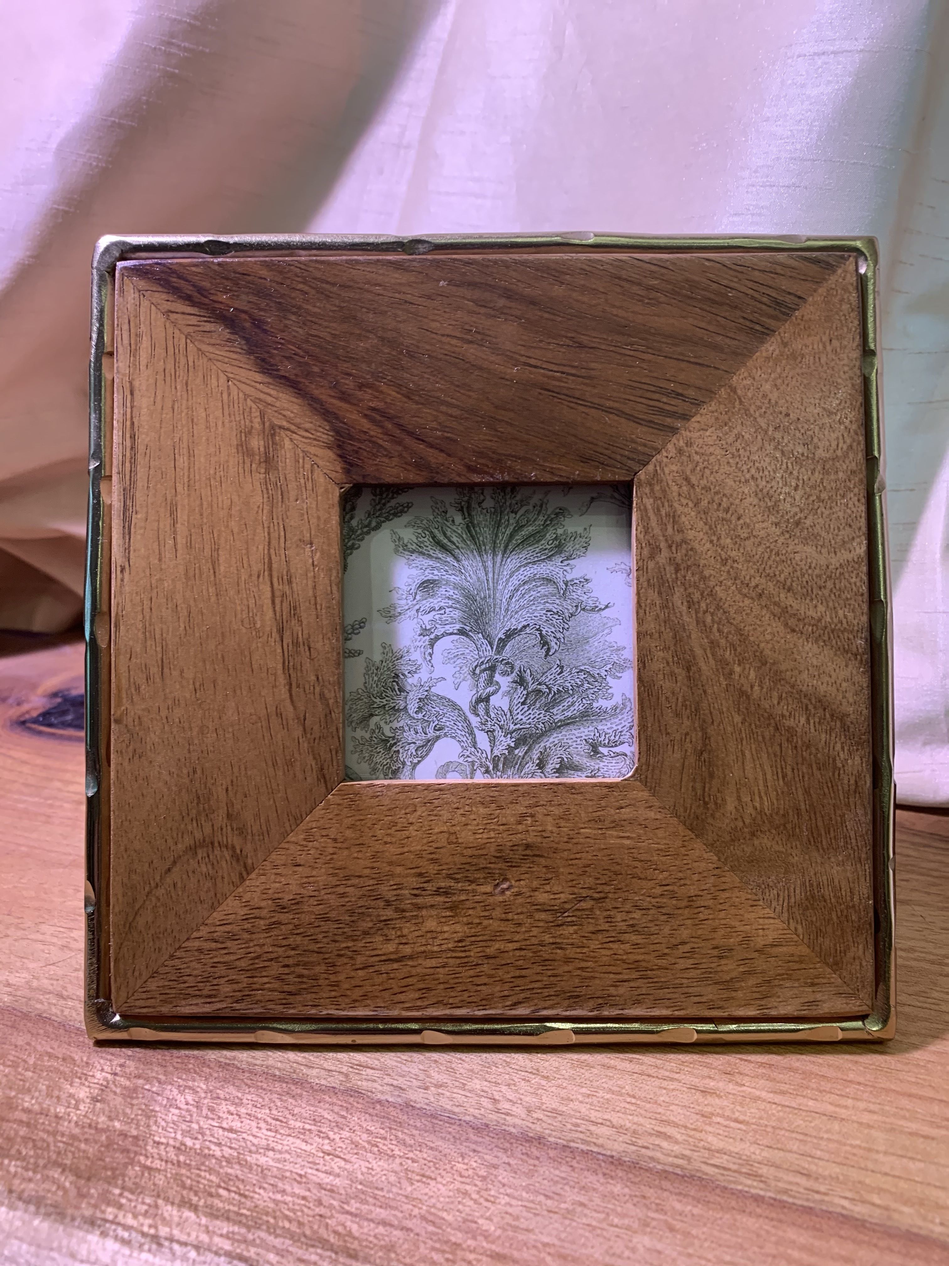 Personalized Hard Wood Picture Frame