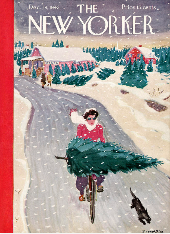 New Yorker December Covers