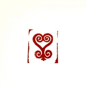 Adinkra Saint Valentine