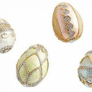 Faberge-Style Ostrich Eggs