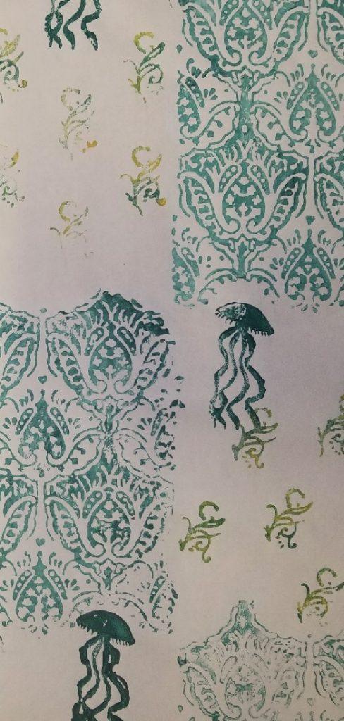 Green Hill Jellies (Wallpaper), 2021